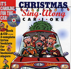 CHRISTMAS Sing Along CAR-I-OKE. It's caroling for the car! Book & CD plus 3 complete lyrics booklets for the backseat singers.